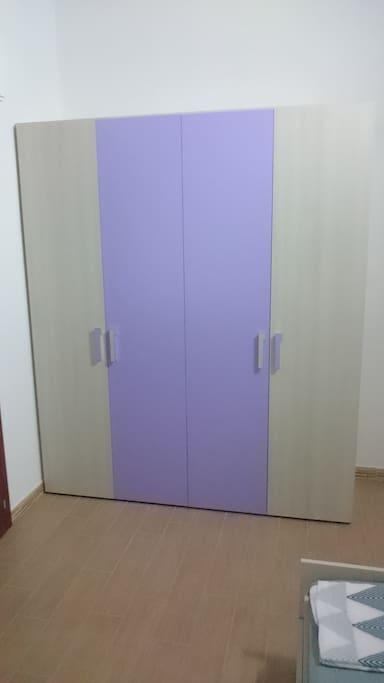 Guardaroba in Camera da letto - Wardrobe in the private room