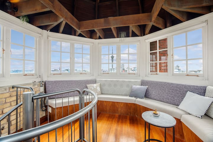 Gorgeous Unique Converted Watchtower Central Apt
