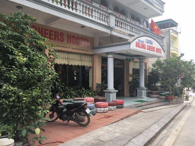 Halong Cheers Hostel - Sea view ! - Thành phố Hạ Long - ที่พักพร้อมอาหารเช้า