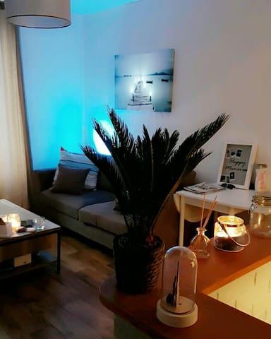 Une petite chambre dans un appart - Avranches - Huoneisto