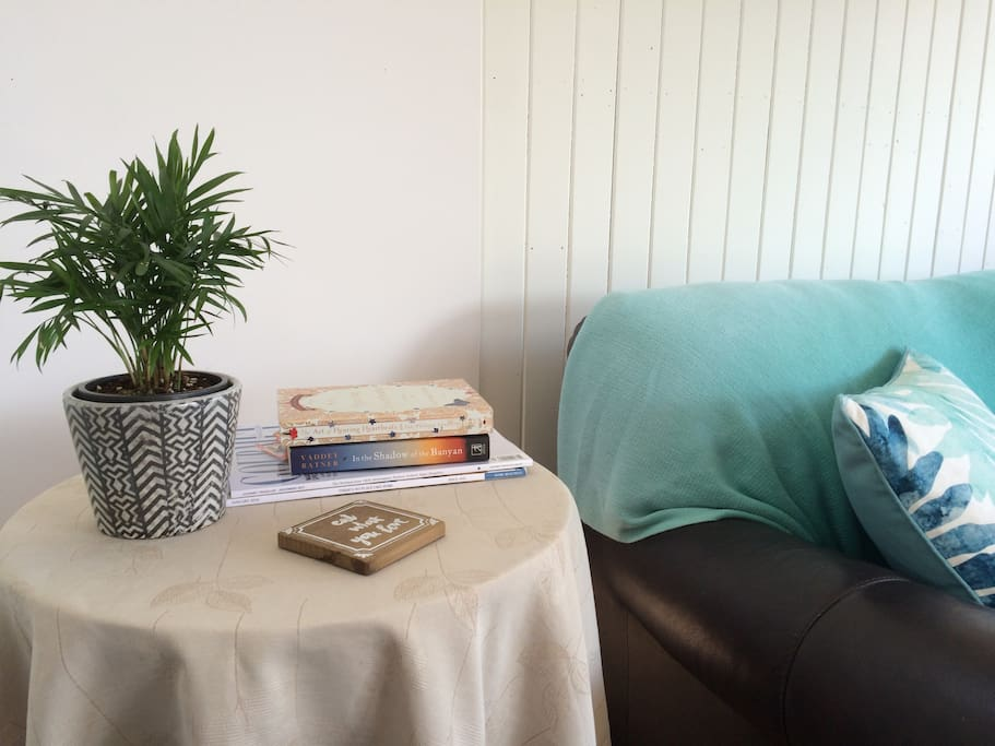 A cozy corner to snuggle up with a good book