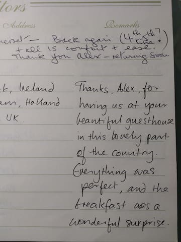 Our guests in their own words