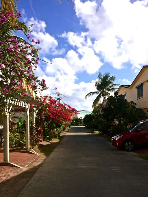 A wonderful location in one of Jolly Harbour's most quiet streets. Relax 100% guaranteed.