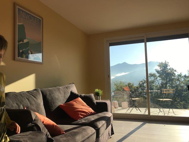 Appartement avec vue montagne et nature