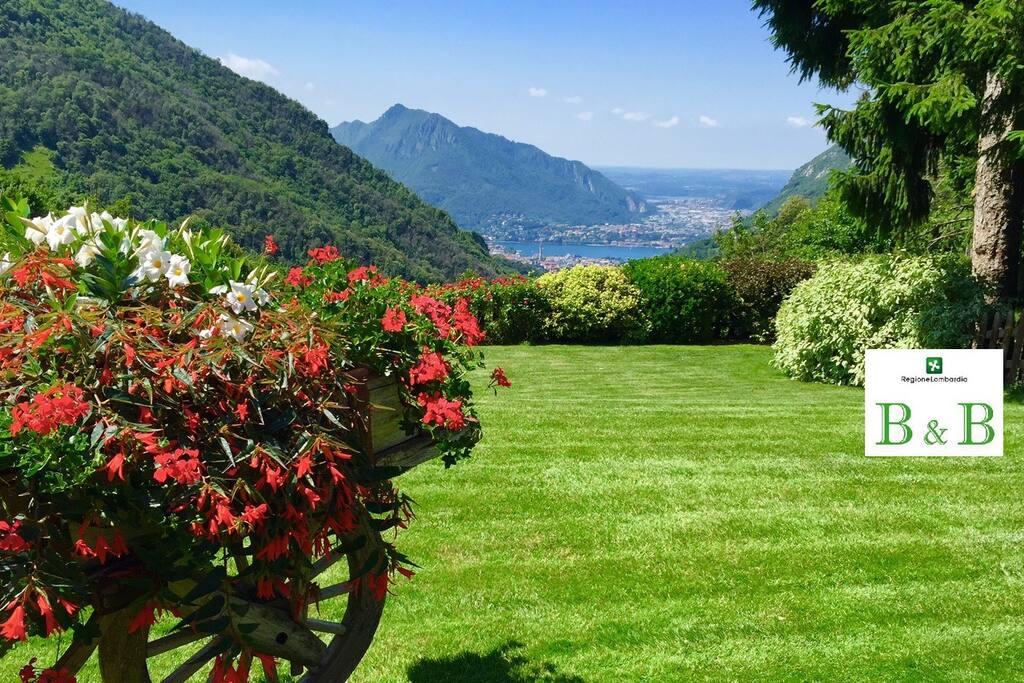 B b a casa di stefy vista spettacolare pernottamento for Piani di casa sul lago per lotti ripidi