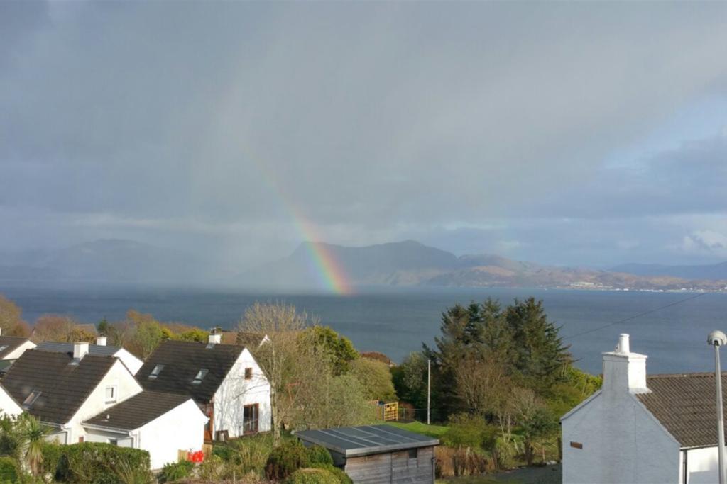 Rainbow seen from Homeleigh