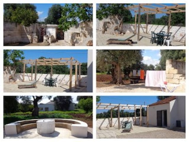 VILLA POUILLES RESERVE NATURELLE TORRE GUACETO - Brindisi - Casa