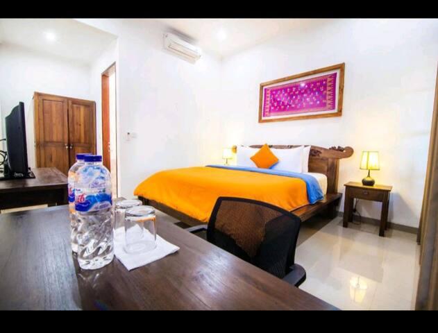 Wiras Village Canggu Deluxe Double bedroom9
