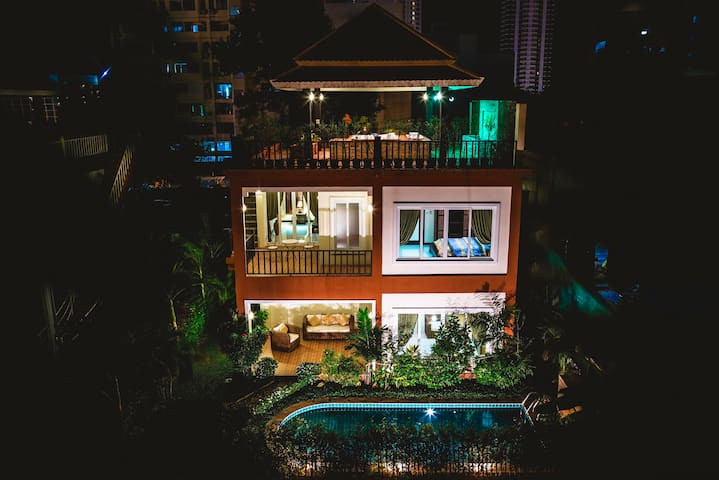 Arabella Villa Pattaya, Private Pool & Jacuzzi 228