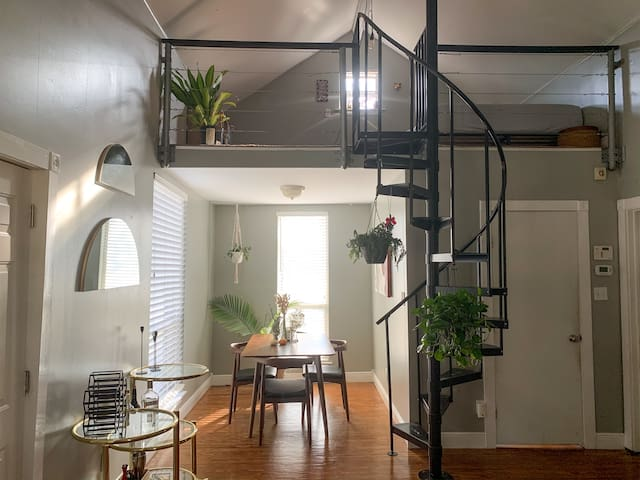 Modern East Side Sanctuary with Spiral Staircase