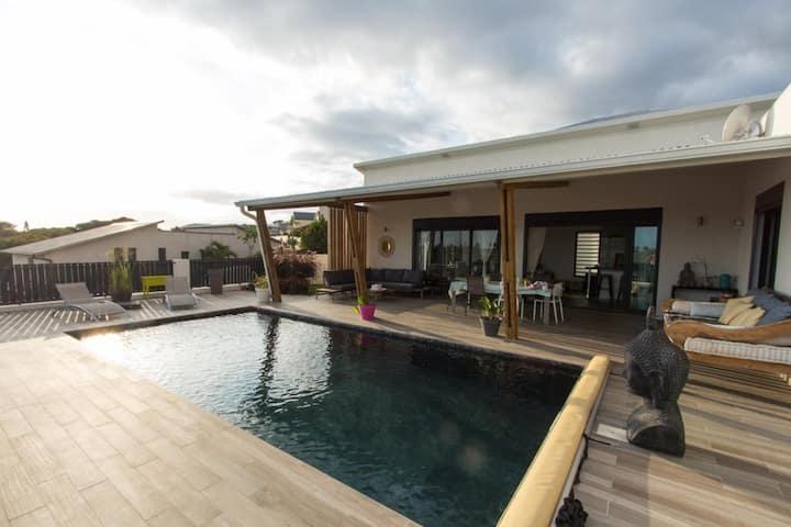 Modern and cosy villa