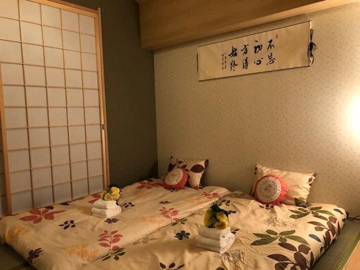 宿梓~合法和風包棟2層3房難波今宮自駕Namba난바/Tennoji/Japanese Style