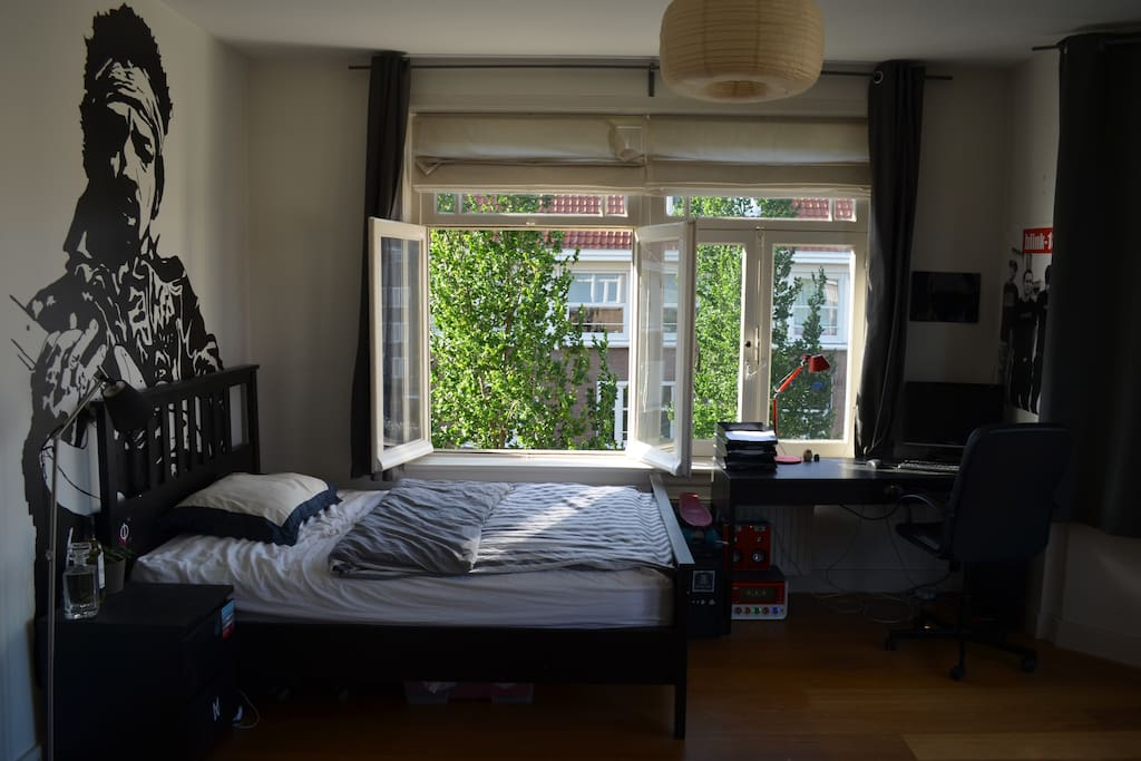 Bedroom view to the side
