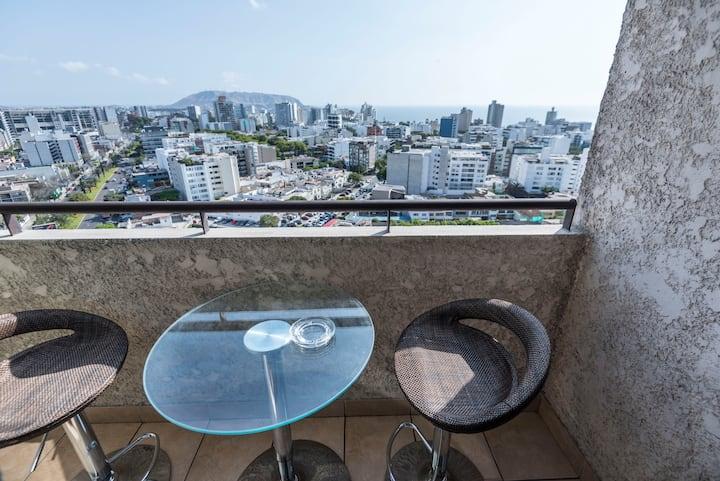 Ocean view, exclusive apartment in Miraflores⭐️❤️✈