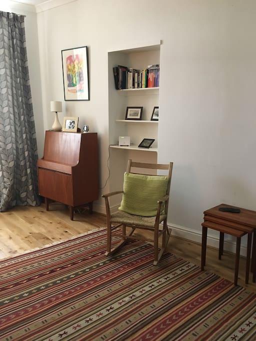 Corner of sitting room
