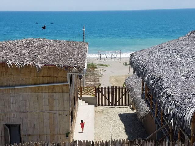 Cabañas frente al mar- Machalilla-Puerto Lopez2