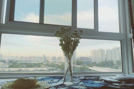 五道口/地铁13号线/交通便利/精装大客厅/飘窗梦幻房/清北 - Appartamento