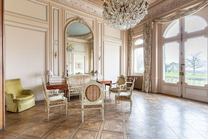 Alluring Castle in Ocquerre with Swimming Pool