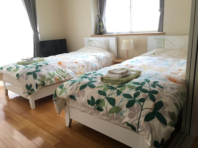 A1: Perfect studio for Couple: 2BD+PK - Okinawa - Huoneisto