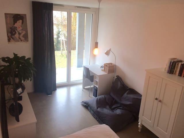 Privatzimmer im Grünen und in der Nähe von Aarau - Biberstein - Apartment