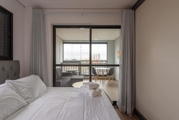 VNBR0617 Apartamento minimalista no Bom Retiro