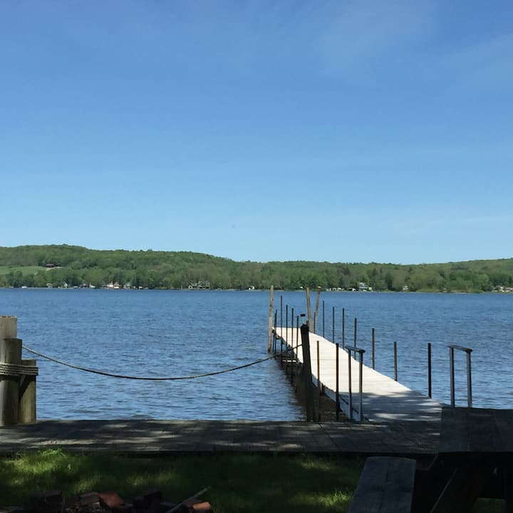 Chautauqua Lake house with dock
