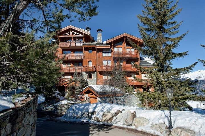 Beautiful apartment ski in ski out in lovelychalet