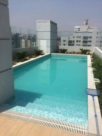 Dpto 3 dormitorios,parking,piscina - Jesús María - Apartamento