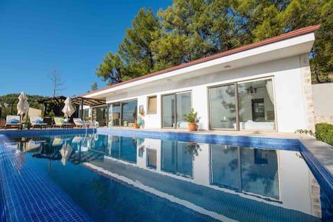 Luxury Villa with stunning mountain and sea views