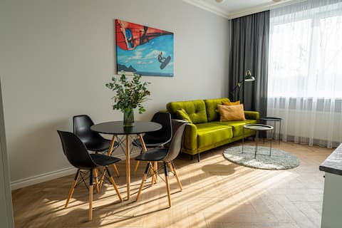 Wonderful Apartment in The Heart Of Kaunas Center