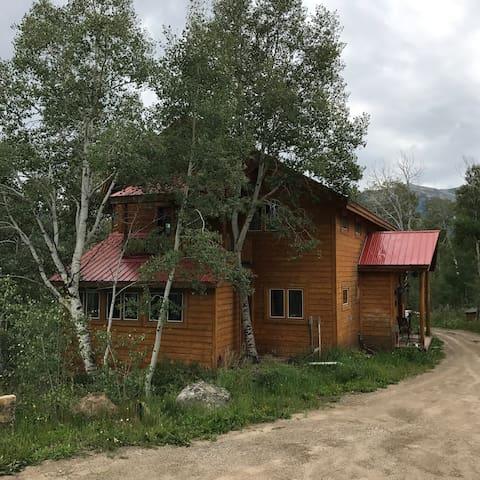 Crested Butte Custom Log home
