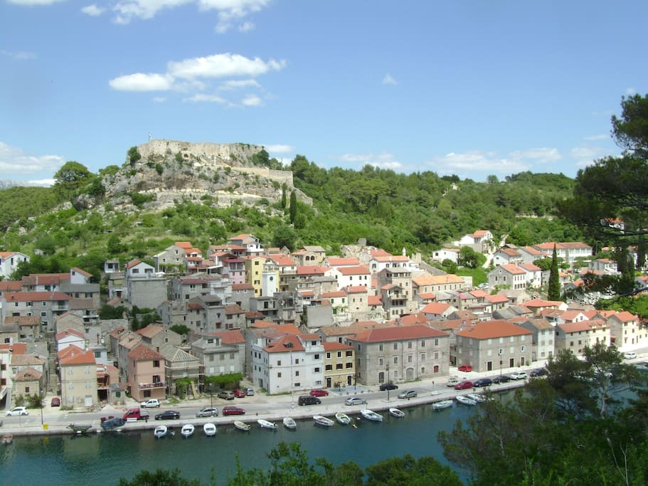 Novigrad - a town with a rich cultural history at the foot of the Velebit Mountain surrounded by beautiful nature, forest and sea.