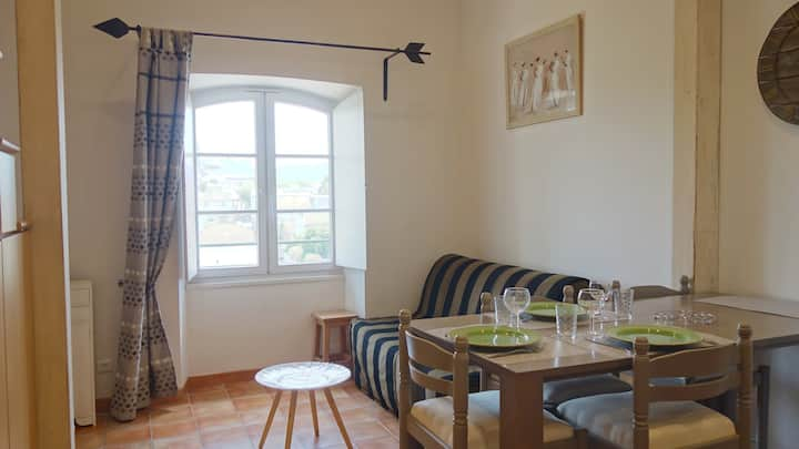 Appartement centre-ville, avec parking vu Alpilles