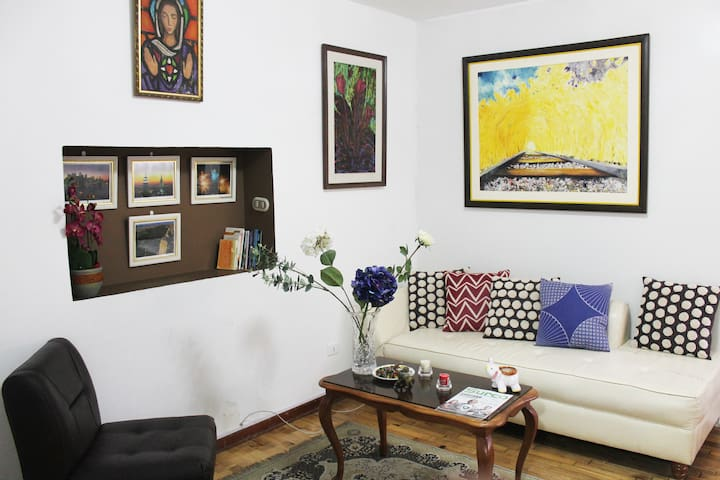 Ground floor & 1 bedroom & 20-29$ DOLLAR AT NIGHT - Santiago de Surco