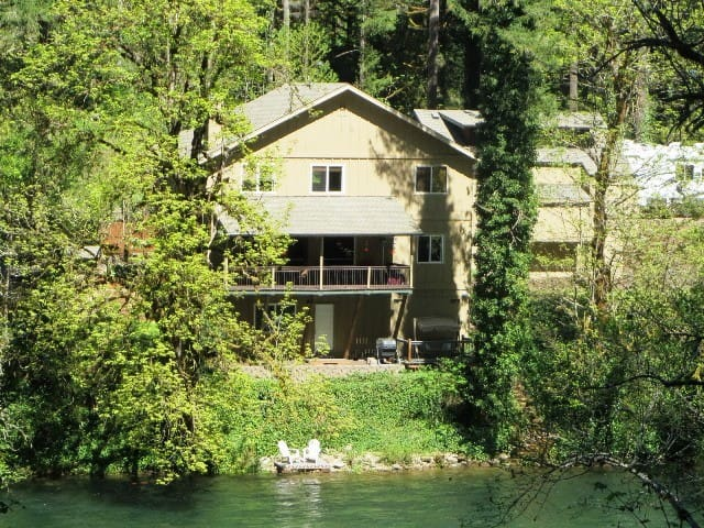 McKenzie River Frontage--NEW!