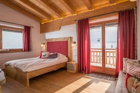 Panorama double room in Kitzbuhel Alps - Penningberg - Bed & Breakfast