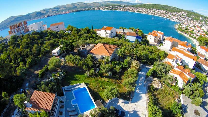 Seaview apartment & pool(6 people) - Okrug Gornji - Apartment