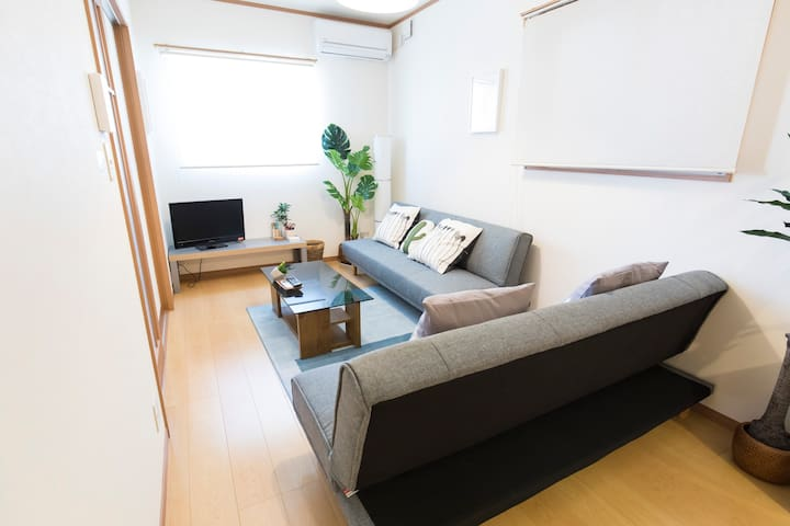 TENJIN HOUSE* 10ppl* Central* mWiFi*  EntireHouse*