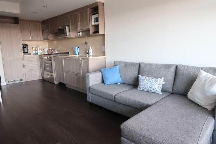 Luxury 1 Br Condo w/ patio/gym and pool