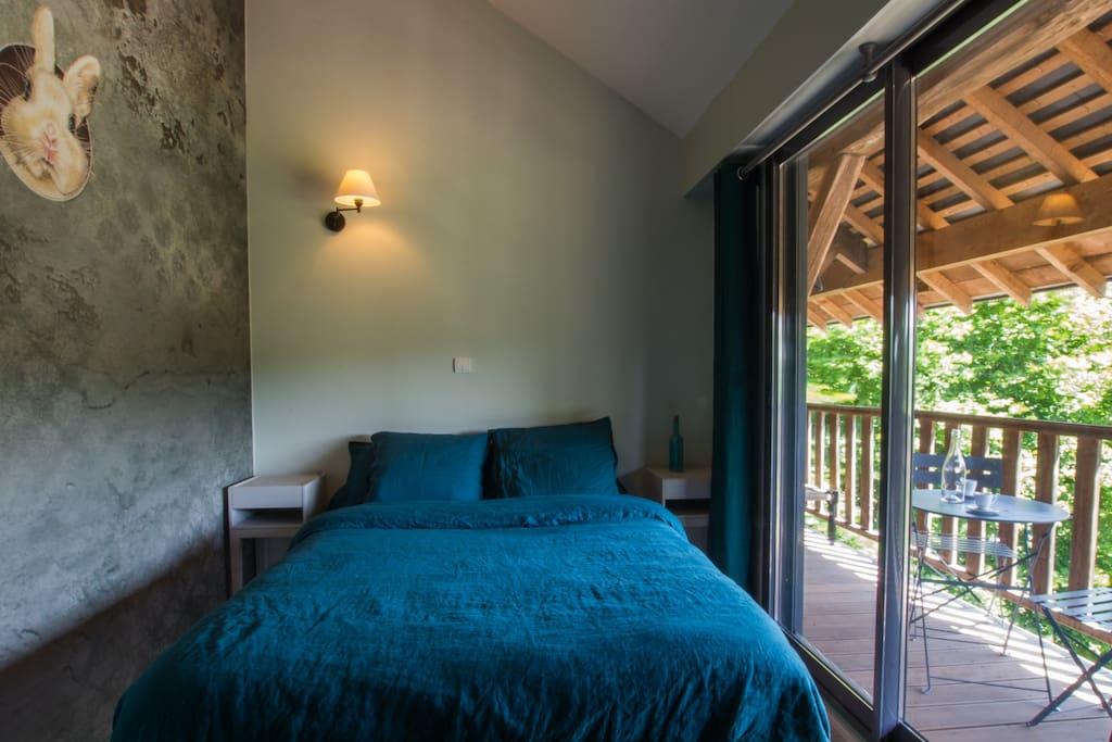La chambre Aristide...
