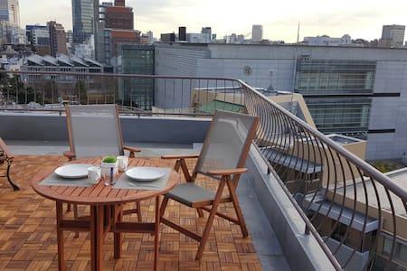 Sunny balcony 1BR ★ 2 mins Roppongi - Apartment