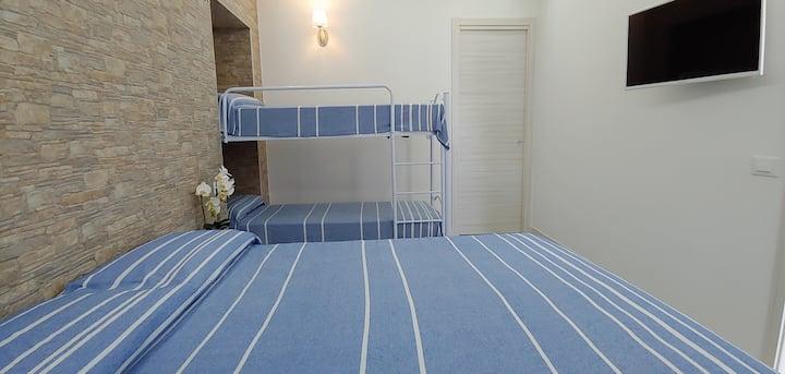 Appartamento quattro posti letto sul mare