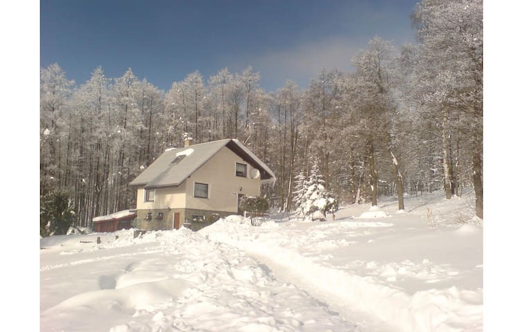 Holiday cottage with 3 bedrooms on 81 m² in Jachymov