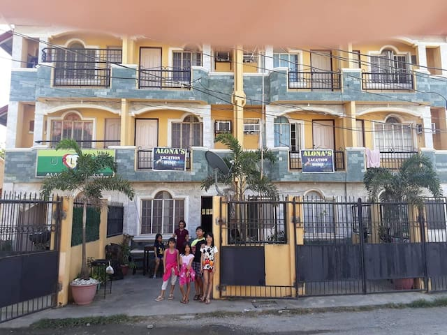 ALONA'S TRANSIENT HOUSE in Alaminos City proper.