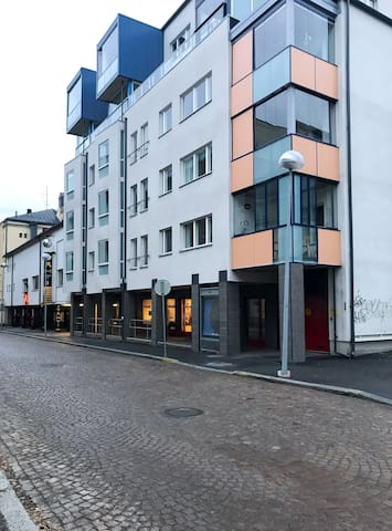 Two-bedroom apartment with a balcony and sauna in Oulu city center - Pakkahuoneenkatu 21