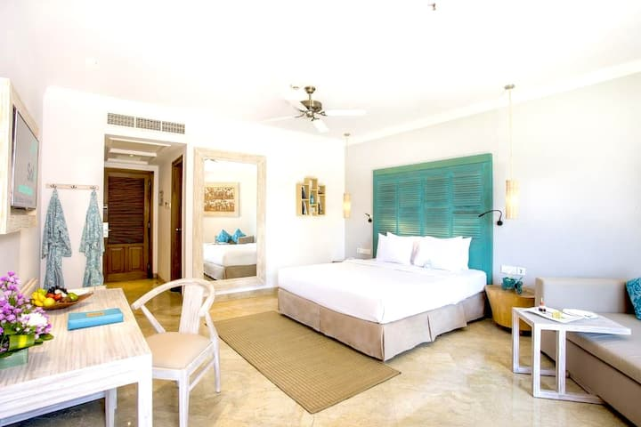 Elegant Room, Balinese Decor, Benoa Beach Front