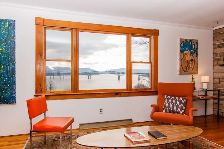 Hudson River View Artist's Bungalow - Newburgh - House