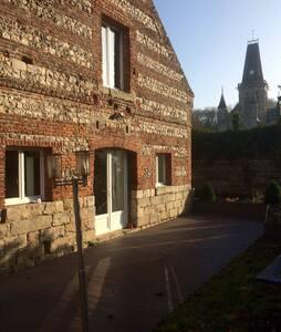 """""""L'écurie"""" joli gîte au bord du Dun - Le Bourg-Dun - Huis"""