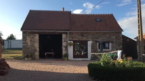 Gîte op het Franse platteland