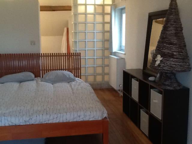 Chambre avec WC et sdd intégrée - Overijse - Penzion (B&B)